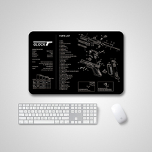 915*305mm Large Gaming Mouse Pad Natural Rubber No-Slip PC Laptop Computer Mousepad Desk Keyboard Mat for LOL CSGO DOTA 2 Gamer 2 in 1 900 450mm double side large gaming mouse pad pu leather non slip mouse mat for dota 2 csgo office desk mousepad gamer