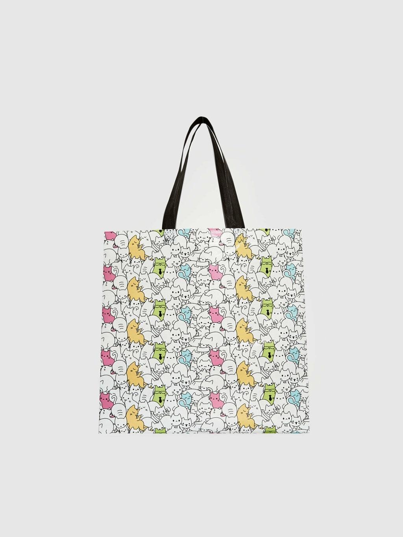 Shopping Bags Storage Tote Foldable Reusable for Groceries Supermarket Handbag Eco Friendly Multifunction كيس قماش هجوم العمالقه