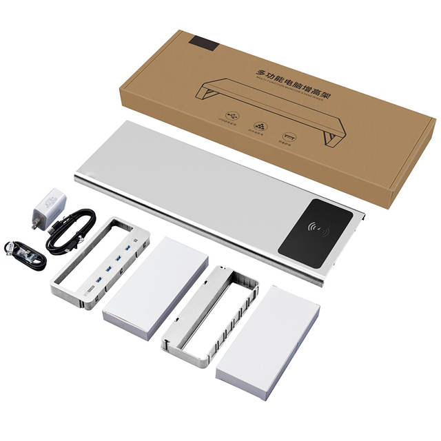 Business Accessories & Gadgets Laptop Accessories Monitor Stand With Charging Port