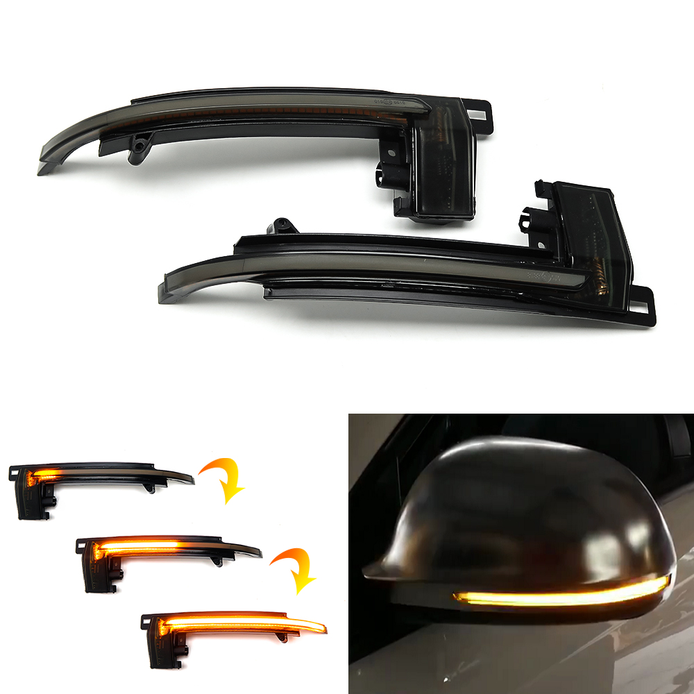 LED Side Mirror Sequential Blinker Dynamic Turn Signal Light For <font><b>Audi</b></font> A3 S3 8P A4 B8 S4 A5 S5 Q3 SQ3 A6 S6 RS6 C6 4F <font><b>A8</b></font> D3 S8 8K image