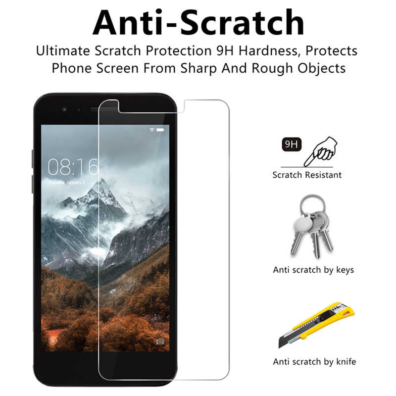 Toughed Smartphone Schutz Glas für LG G7 G6 G5 G3 G2 9H HD Screen Protector auf LG K10 Pro