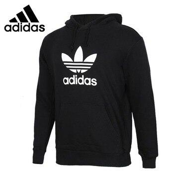 Original New Arrival Adidas Originals TREFOIL HOODIE Men's Pullover Hoodies Sportswear