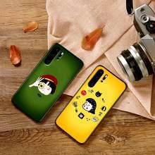 Silicone Phone Case For Huawei Y6 Y7 2018 Y9 Prime Mate 10 20 Pro 2 3 4 Lite Nova 2i 3i 5i Coque Cartoon cute(China)