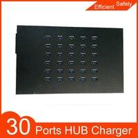 30 port USB 3.0 charger sync hub USB distributor for mobile phones, computers, printers, USB drives, laptops bitcoin mining