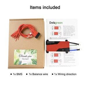 Image 5 - Deligreen 15S 100A 150A 200A 48В BMS для аккумуляторной батареи LiFePO4, защитная плата 18650 для sccoter ebike