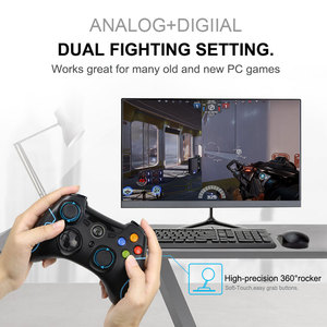 Image 2 - 2.4G Wireless ESM 9013 Gamepad Game joystick Controller Fit for PC Windows For PS3 TV Box Android Smartphone