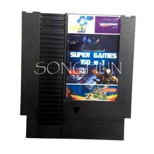 Image 1 - أفضل 150 في 1 خرطوشة ل 72 دبوس 8 بت لعبة فيديو وحدة التحكم مع Rockman 1 2 3 4 5 6 السلاحف كونترا كيربيs Adventure Castlevania