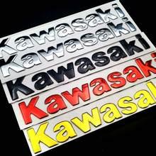 Emblema Tanque para Kawasaki NINJA 250R 3D 300R ZX6R R6 ZX 636 ZX10R Z1000XS Z1000 Z800 ZX7R ZX9R ER6N ER6F lados adesivos decal