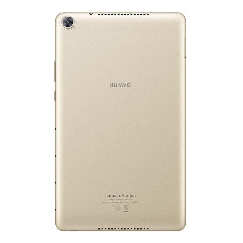 Оригинальный huawei Pad M5 WiFi 8,0 дюймов 4 Гб 64 ГБ Android 9 EMUI 9,0 Hisilicon Kirin 710 Восьмиядерный двойной Cam 5100 мАч планшет золотой - 6