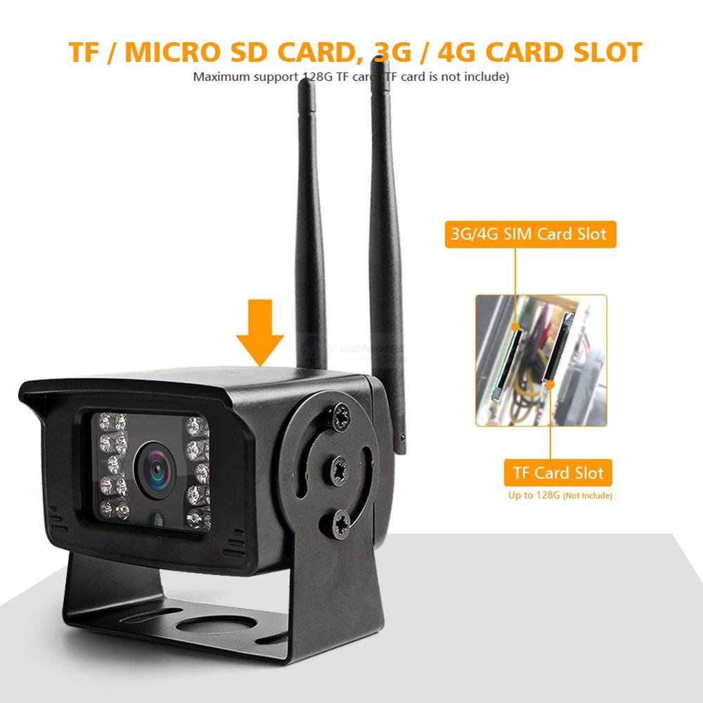 Image 5 - MINI 1080P 5MP 4G SIM Card WIFI Camera Outdoor Support Max 128G Micro TF Card Storage IR 20M CCTV Surveillance Cameras P2P View-in Surveillance Cameras from Security & Protection