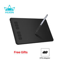 HUION Inspiroy H640P Battery-Free Digital Drawing Tablets Graphics Pen Tablet with 8192 Pressure Levels Stylus with OTG Gift(China)