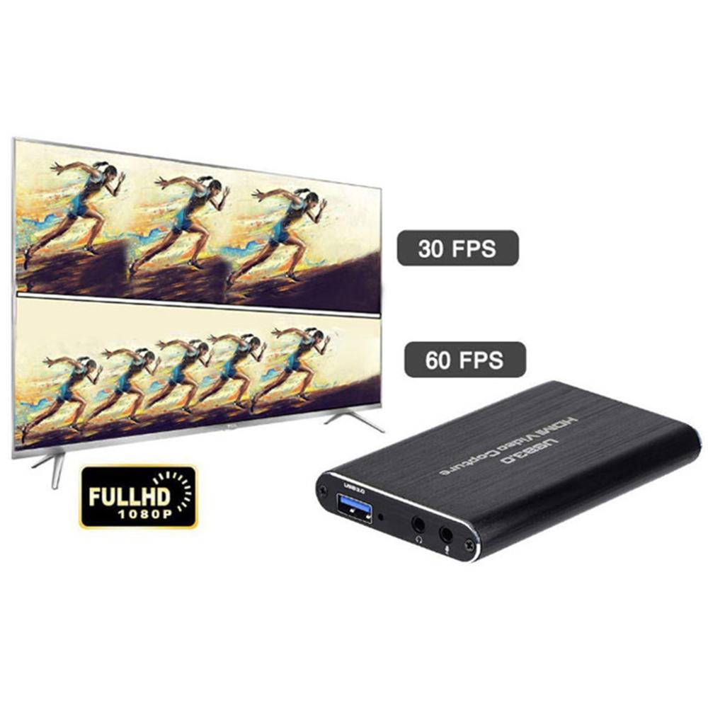 4K Game Video Capture Card USB3.0 1080P Grabber Dongle HDMI-compatible capture card for OBS Capturing Game Capture Card Live 5