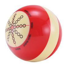 1 шт. 57 мм белый красный Кий Мяч тренировочный Бильярд Британский Американский снукер тренировочный мяч бильярдный тренировочный инвентарь