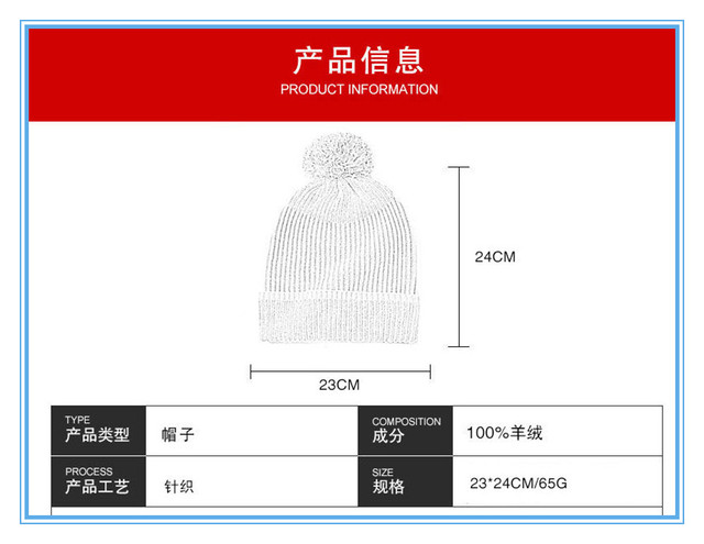 Новейший новый дизайн вязаная шапка из кашемира и перчатки две