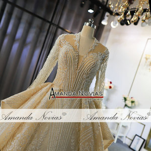 Image 3 - Роскошные свадебные платья с длинными рукавами