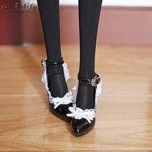 AIIaosify BJD 1/3 female doll shoes sd flat feet high