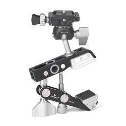 Marsace new design MC02 Powerful Universal Clamp Clip with BallHead Kit for Canon Nikon Sony Fuji DSLR Camera Arca-Swiss RRS