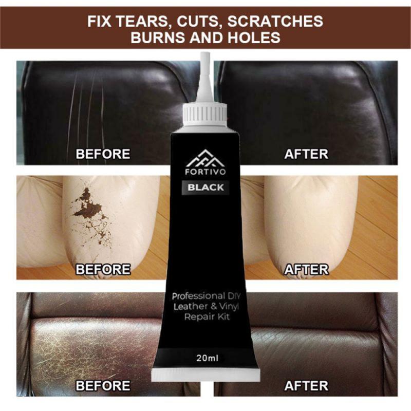 1pc Car Seat Repair Cream Leather Seat Coats Hole  Scratch Cracks Rip Repair Tool Sofa Cleaner Auto Care Detailing Accessories