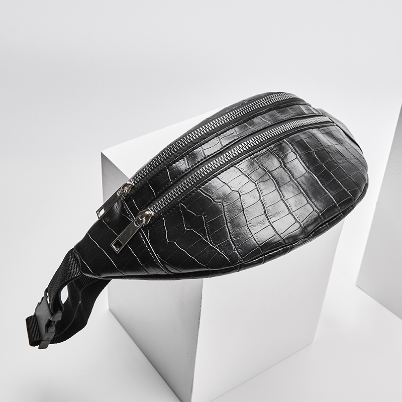 Women bag crocodile chest bag female Pu leather messenger handbag Fashion high quality shoulder crossbody bags for women 2019