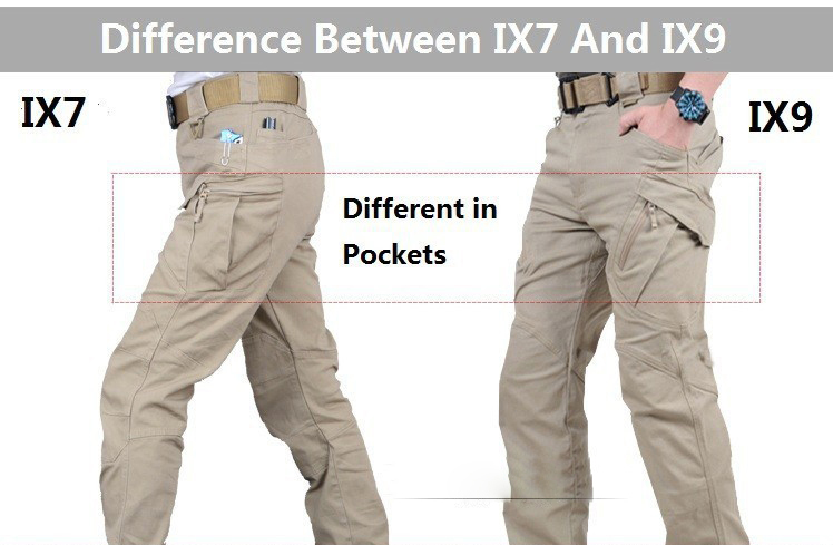Image 3 - IX9/IX7 City Military Tactical Men Pants swat Combat Army Pants Casual Trousers pantalones Multiple Pocket Cargo Pants Men 5XLCargo Pants   -