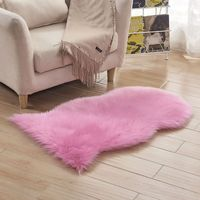 Soft Sheepskin Rug Chair Cover Artificial Wool Warm Hairy Carpet Floor Mat Soft Rest Area Blanket Seat Pad Skin Textile