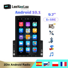 LeeKooLuu Android 10.0 2 Din Car radio Multimedia GPS Player 2DIN Universal 9.7