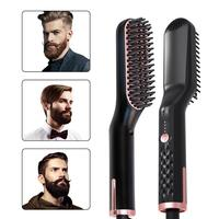 Выпрямители для волос набор для ухода за бородой многофункциональный мужской выпрямитель для бороды для укладки многофункциональная расч...