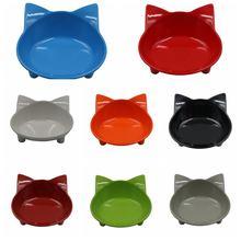 Кормушка миска для домашних питомцев милый кот уход за кожей