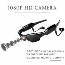Mini gafas de sol Secret HD, videocámara Digital con grabadora de vídeo, Bluetooth, polarizadas, para ciclismo, DVR, con auriculares, con tarjeta TF