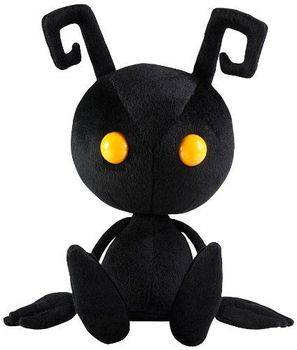 12'' 30cm Kingdom Hearts Plush Doll Shadow Heartless Square Enix Soft Toy Figure Gift for Kids Adults Collection - sale item Costumes & Accessories