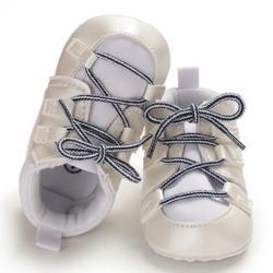 Обувь для маленьких мальчиков с перекрестными ремешками; обувь для первых ходунков в стиле ретро; нескользящая прогулочная обувь;