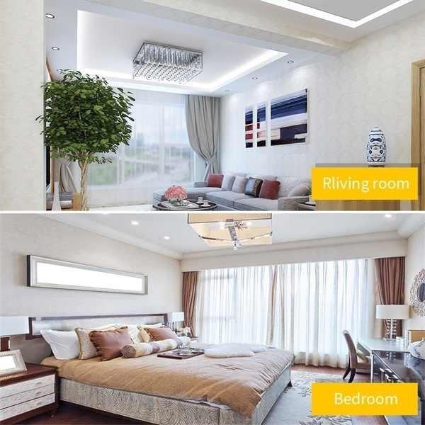 10 قطعة 3/5/7 واط 220-240 فولت عكس الضوء LED السقف النازل راحة خزانة جدار بقعة ضوء أسفل مصباح بقعة ضوء
