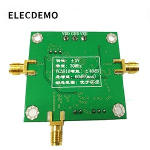 Image 2 - Gain Amplifier VCA810 Module AGC Module Broadband Voltage Controlled Gain Amplifier board Adjustable DA Programming Control