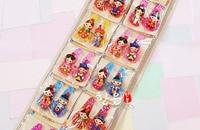 Korean Handicraft Korean Dress Doll Color Head Card Children Hair Ornament Hair Card Hair Pin Girls Hair Accessories