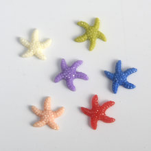 Decorative Resin Aquarium Wishing Bottle Mini DIY Artificial Sea Star Cute Home Blocking Fish Tank Ornaments Colorful(China)