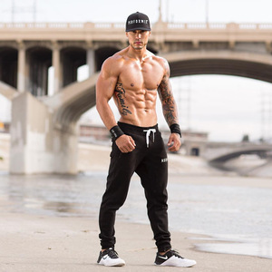 2020 new Autumn winter Men Running Training Pants Sport Trousers Jogging soccer Basketball Gym Fitness Sports Sweatpants Pocket