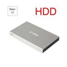 Портативный HDD внешний жесткий диск USB 3,0 500 г. 160 г. 250 г. 320 г. Г HDD Внешний HD жесткий диск для ПК черный серебристый