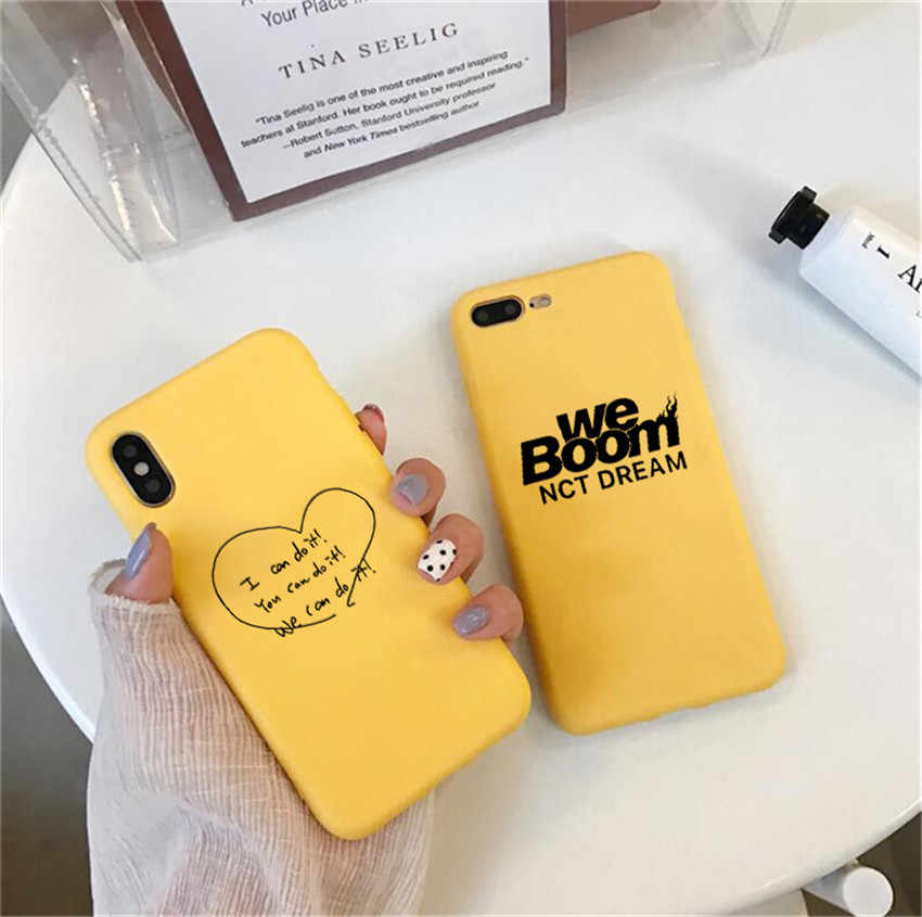 NCT DREAM We Boom Fireflies phone Case For iPhone X 7 Plus XS 10 Case Silicone Phone Cover For iPhone 6S 8 6 Plus XS Max Case