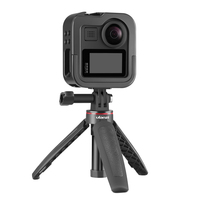 Ulanzi GM 3 Metall Gopro Max Käfig Fall Vlog Kalten Schuh Design Fall tragbare Vlogging Käfig Kamera Stativ-in Kamera-Käfig aus Verbraucherelektronik bei