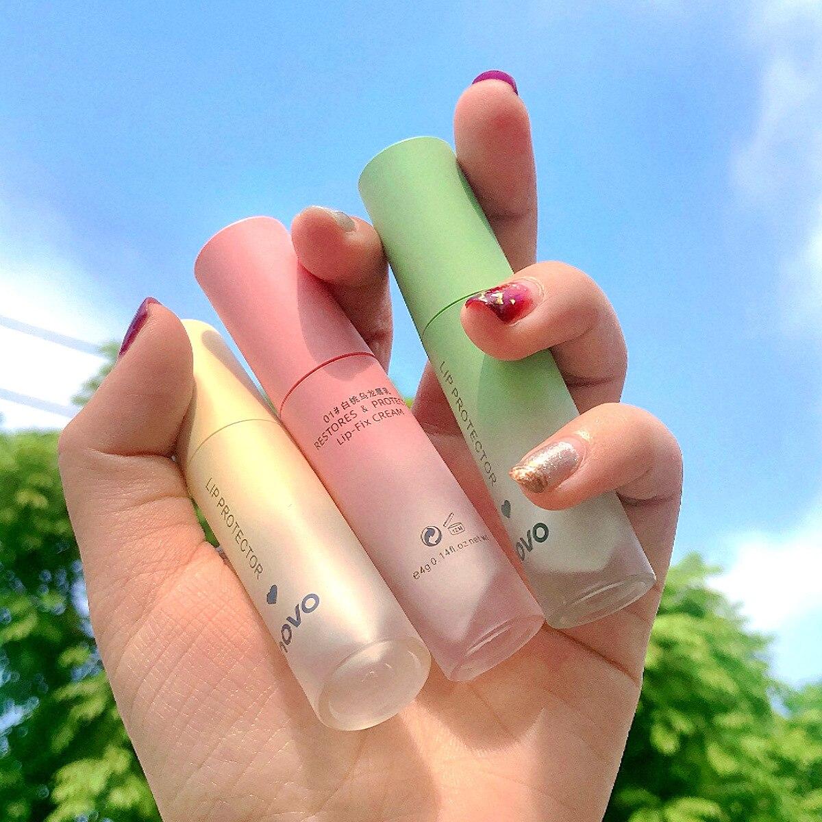 Novo super hidratante labial bálsamo creme protetor linha batom líquido longa duração maquiagem labial matiz cosméticos para o inverno