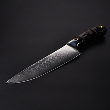 8inch Chef Knife 67Layers Damascus Steel Kitchen Cleaver Knife Pro Meat Slicing Knife Cutlery Sushi Salmon Filleting Chief Knife