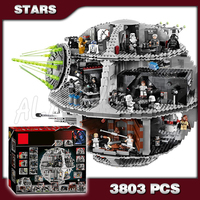 3803pcs Space wars Death Star DIY 05035 Model Building Blocks Sets Gifts Bricks Great Scale Teenagers Toys Compatible with Lego