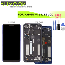 6.26 inch Original LCD for Xiaomi Mi 8 lite Screen Display Touch Screen Digitizer Assembly Screen Replacement for Mi 8 Youth LCD pegasus tianm genuine original 3 5 inch lcd screen tm035kvhg01