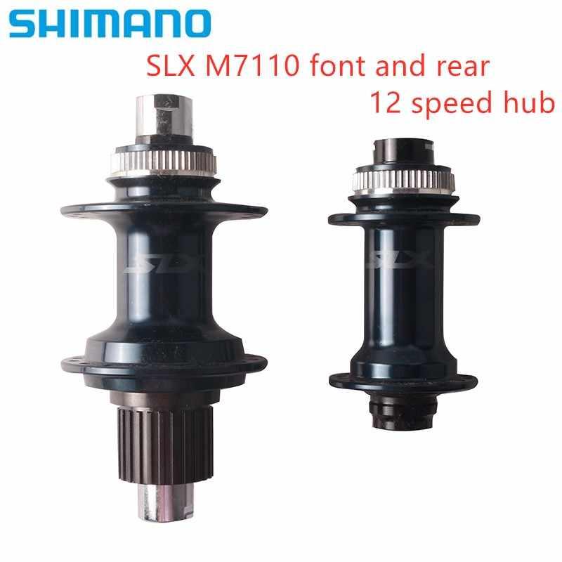 Shimano SLX HB M7110 FH M7110 Hub Centerlock Disc Brake 12 Speed Front Rear 32H