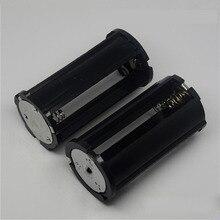 1x2x3x18650 סוללה ממיר תיבת DIY סוללות קליפ תא ממיר צילינדר 1 2 3 חלקים במקביל אוניברסלי