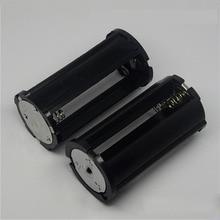 1x2x3x18650 pil dönüştürücü kutusu DIY piller klip bölme dönüştürücü silindir 1 2 3 bölümler paralel evrensel