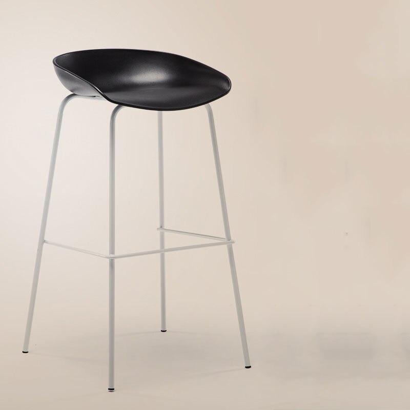 Bar Chair High Stool Elm Craft High Strength Bearing Modern Simplicity Easy To Install Multiple Choices