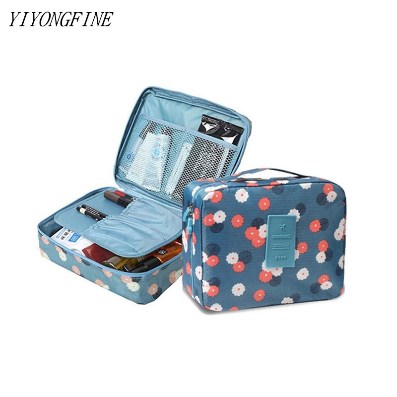 Multifunction Travel, Cosmetic Bag, Women's Toiletry Bag Makeup Bags Toilet Organizer Female Waterproof Storage Make Cases