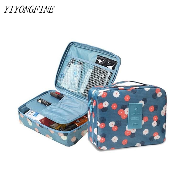 Multifunction Travel, Cosmetic Bag, Women's Toiletry Bag Makeup Bags Toilet Organizer Female Waterproof Storage Make Cases