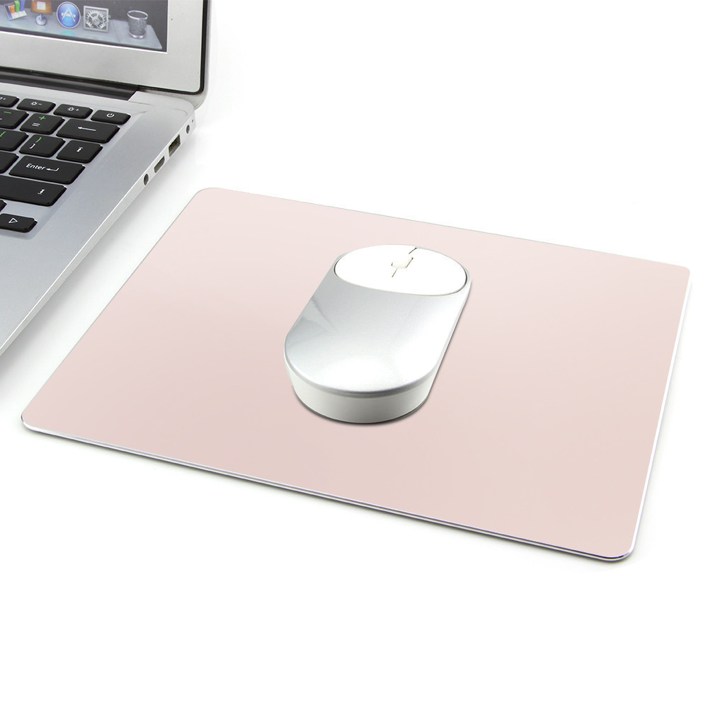 CHYI Aluminum Alloy Metal Gaming Mouse Pad Gamer Waterproof PC Computer Laptop Game <font><b>Mousepad</b></font> For Magic Apple <font><b>Xiaomi</b></font> Mice image